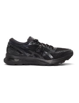Black Gel Nimbus 21 Sneakers by Asics