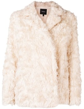 Faux Shearling Jacket by Theory