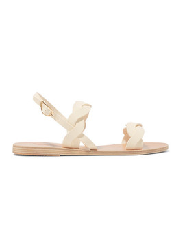 Plexi Leather Sandals by Ancient Greek Sandals