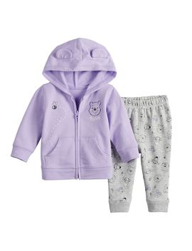 Disney's Winnie The Pooh Baby Girl Hoodie &Amp; Pants By Jumping Beans® by Disney's Winnie The Pooh Baby Girl Hoodie &Amp; Pants By Jumping Beans