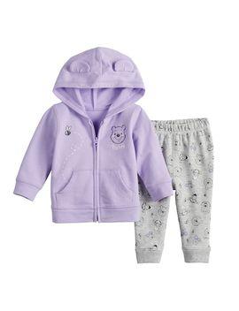 Disney's Winnie The Pooh Baby Girl Hoodie & Pants By Jumping Beans® by Disney's Winnie The Pooh Baby Girl Hoodie & Pants By Jumping Beans