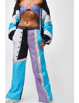 **Blue And Lilac Shell Suit By Jaded London by Topshop