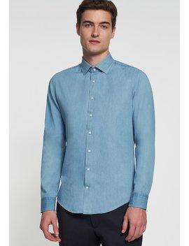 Slim Fit Light Kent   Skjorte by Seidensticker