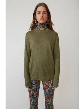 Boy Fit T Shirt Forest Green by Acne Studios