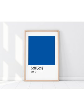 Pantone Print, Pantone Art, Printable Art, Minimalist Print, Pantone Color, Scandinavian Print, Wall Prints, Colors Print, Digital Files by Etsy