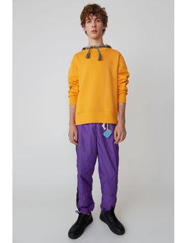 Regular Fit Sweatshirt Sharp Orange by Acne Studios