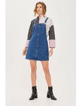 Petite Pocket Pinafore Dress by Topshop