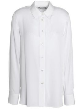 Stretch Silk Shirt by Vince.