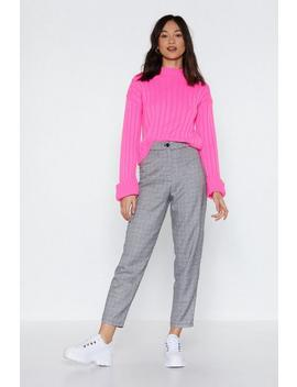 See You In A Check Pants by Nasty Gal