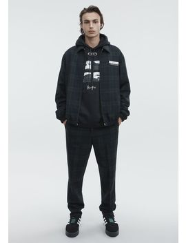Plaid Zip Up Jacket by Alexander Wang