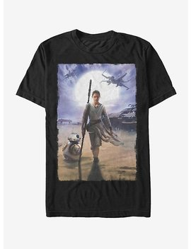 Star Wars Rey On Jakku T Shirt by Hot Topic