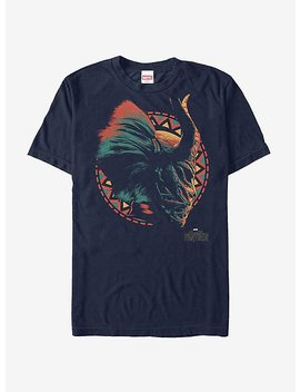 Marvel Black Panther 2018 Killmonger's Mask T Shirt by Hot Topic