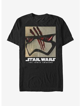 Star Wars Finn Stormtrooper Helmet T Shirt by Hot Topic