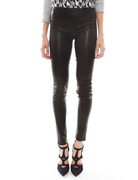 Womens 100 Percents Genuine Lambskin Skinny Fit Stretch Able Leather Pant Legging Style by Ebay Seller