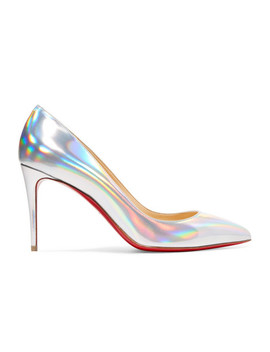 Pigalle Follies 85 Iridescent Leather Pumps by Christian Louboutin