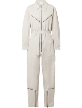 Pigalle Cotton Blend Twill Jumpsuit by Tre By Natalie Ratabesi