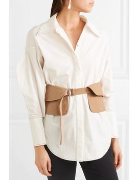 Quilted Cotton Waist Belt by Jil Sander