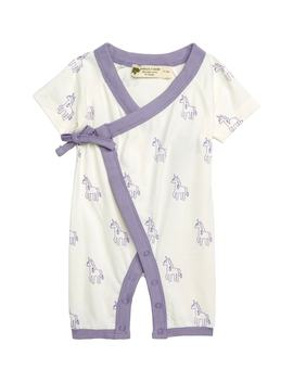 Sweet Baby Wrap Romper by Monica + Andy