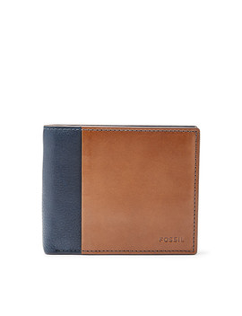 Ward Rfid Large Coin Pocket Bifold by Fossil