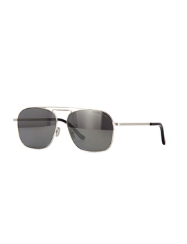 Cutler And Gross 1310 04 Palladium With Gunmetal Mirror by Cutler And Gross Sunglasses