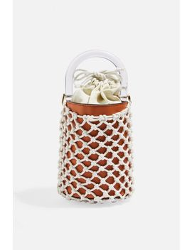 String Bucket Bag by Topshop