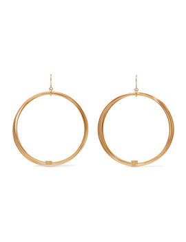Thalia Gold Plated Earrings by Aurélie Bidermann
