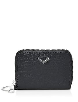 Soho Zip Leather Card Case by Botkier