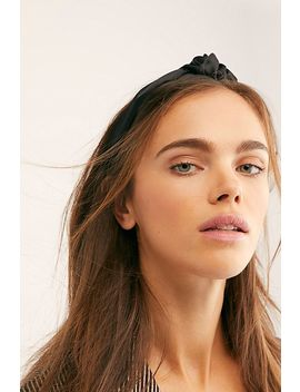 Satin Knot Headband by Free People