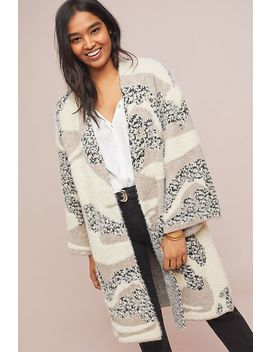 Kimono Pelucheux Winter Walk by Anthropologie