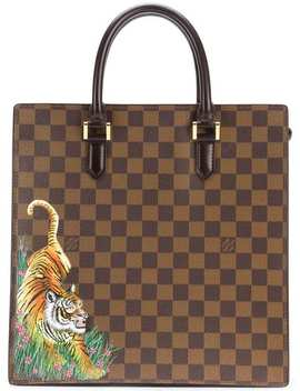 Tiger Print Monogram Tote by Louis Vuitton Vintage