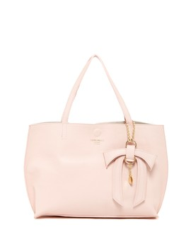 Delilah Leather Tote N' Convertible Clutch by Persaman New York