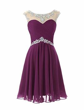 Dresstells Short Prom Dresses Sexy Homecoming Dress Chiffon Birthday Party Dress by Dresstells