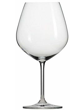 Schott Zwiesel Tritan Crystal Glass Forte Stemware Collection Burgundy/Beaujolais Red Wine Glass, 18.3 Ounce, Set Of 6 by Schott Zwiesel