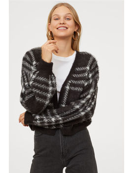 Cardigan In Filato Peloso by H&M