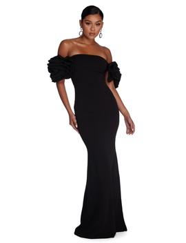 Diane Formal Off The Shoulder Dress by Windsor
