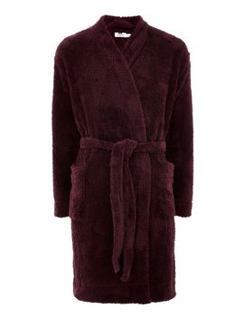 Burgundy Dressing Gown by Topman