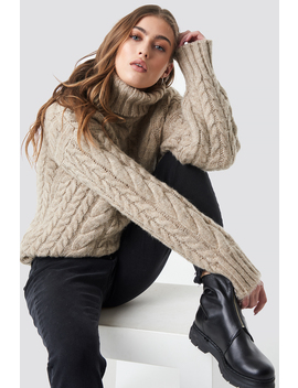 Cable Knitted Sweater by Donnaromina X Na Kd
