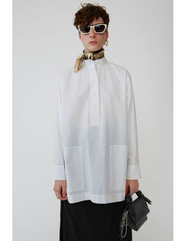 Relaxed Shirt White by Acne Studios