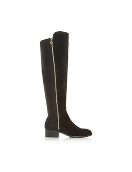 *Head Over Heels By Dune Black 'tessies' Ladies Over The Knee Boots by Dorothy Perkins