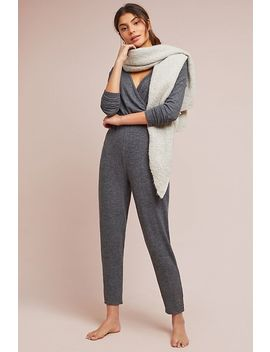 Lahti Surplice Jumpsuit by Anthropologie