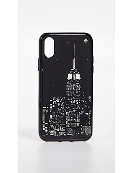 Glow In The Dark Skyline I Phone X / Xs Case by Kate Spade New York