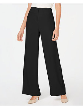 High Waisted Wide Leg Pants, Created For Macy's by Alfani
