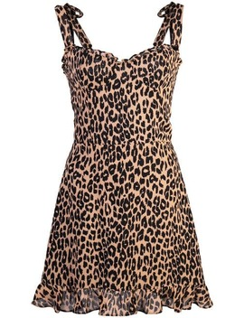 Christine Leopard Print Dress by Reformation