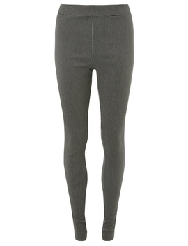 **Tall Black Geometric Print Skinny Fit Bengaline Trousers by Dorothy Perkins