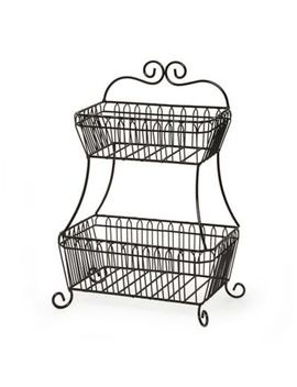Gourmet Basics By Mikasa® French Countryside 2 Tier Flatback Basket by Bed Bath And Beyond