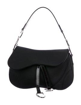 Double Saddle Shoulder Bag by Christian Dior