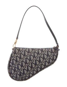 Diorissimo Small Saddle Bag by Christian Dior