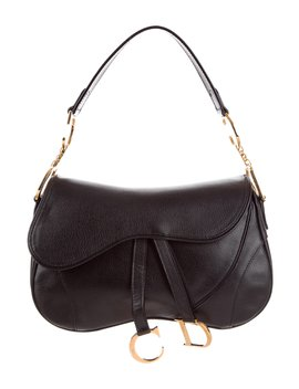 Double Saddle Bag by Christian Dior