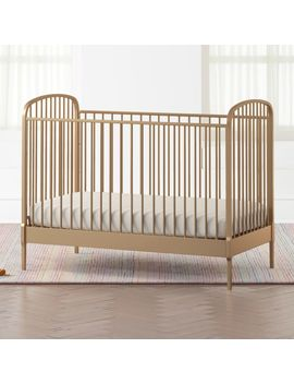 Larkin Gold Metal Crib by Crate&Barrel