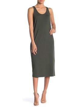 Jersey Swing Tank Dress by Philosophy Cashmere